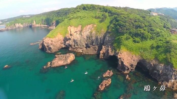 ドローン空撮/新潟・柏崎 「Gull's View ~ 海の柏崎 絶景を飛ぶ ~」30秒Ver
