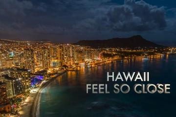 ハワイを感じる映像